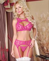 2020 New Arrival Sexy Lingerie Nightwear Crotchless Body stocking Suspender Bodysuit Fishnet Sheer Body Dress Underwear