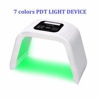 pdt makineleri toptan satış-Pdt ışık terapisi maskesi Cilt Bakımı Cilt Bakımı Için Cilt Güzellik Makinesi Akne Remover cilt sıkılaştırma Tedavisi 2019