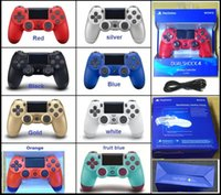 Wholesale video games controllers resale online - Best Favorite PS4 Wireless Game Controller for PlayStation PS4 Game Controller Gamepad Joystick Joypad for Video Games DHL
