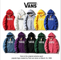 New European and American mens designer star fashion VAN jacket classic letters logo printed Plush hip hop Streetwear Hoodie guard