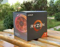 computadoras de escritorio con procesador amd al por mayor-AMD Ruilong Ryzen 7 2700X / 2600X procesador en caja CPU8 núcleo 16 hilo puede tomar X470 / C7H