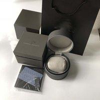ingrosso migliori marche orologi-Commercio all'ingrosso di alta qualità Top Brand TAG Watch Box di lusso Scatole per orologi Casuali di moda in pelle Scatole di orologi Scatola di gioielli scatola regalo