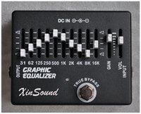 Wholesale effect guitar eq for sale - Group buy 10 Band Equalizer EQ Guitar Effects Pedal XinSound EQ by Handmade Graphic Equalizer