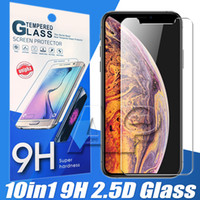 Wholesale charge glasses resale online - Tempered Glass For Iphone XS MAX XR X LG Stylo G6 G4 G7 K20 V10 V30 X Charge V40 Stylo Plus