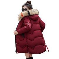 Warme Damen Winter Jacke Parka Lang Mantel Winterjacke Outwear Kapuzenjacke Neu