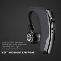 bluetooth kopfhörerbatterien großhandel-Wireless Headsets 5.0 Bluetooth Kopfhörer P11 230mAH Ohrhörer Batterieanzeige Freisprecheinrichtung Ohrhörer Noise Control Kopfhörer Mit Mikrofon Für Fahrer