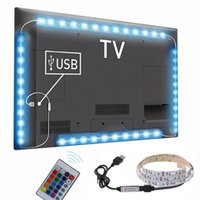 neonlicht dekor großhandel-Neue 3 Größen RGB LED Drahtlose Fernbedienung Neon Innenbeleuchtung Lampe Streifen Lichter Auto Decor
