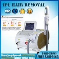 novas máquinas ipl venda por atacado-remoção vascular transporte livre equipamentos de beleza New chegada e luz Laser IPL RF SHR rápido de cabelo máquina de remoção de elight cuidados rejuvenescimento da pele