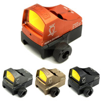 Tactical Docter Red Dot Reflex Sight Hunting Mini Red Dot 3 MOA Scope Auto Brightness Sight With Picatinny Rail Mount and CLOCK Mount