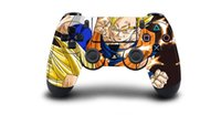 Wholesale ps4 controller decal sticker resale online - 1pc Dragon Ball Z Super PS4 Skin Sticker Decal For Sony PS4 Playstation for Dualshouck Game PS4 Controller Skin Stickers