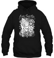 Wholesale mary arts for sale - Group buy Men Hoodie Only God Can Judge urban Tee Cholo Mexican Chicano Virgin Mary Art Women Streetwear
