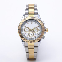Wholesale new stylish watches men for sale - Group buy relogio masculino Mens Women Watch Luxurious Stylish Dial with Calendar Bracelet Folding Buckle Master Mens Gift Luxurious Men watch