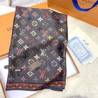 nuevos diseños bufandas al por mayor-Nuevo nuevo satén de seda bufanda larga 90 * 180 cm sentir delgado diseño primavera verano viajar aire acondicionado sala buen socio