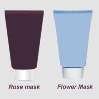 blume ausdrücklich großhandel-Hochwertige Black Rose Cream Maske Express Flower Gel Facial Gel Mask 60ml