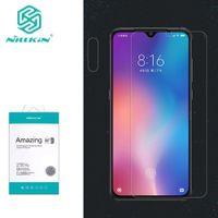 nillkin erstaunlich großhandel-Xiaomi Mi 9 Gehärtetes Glas Xiaomi Mi9 SE Glas Nillkin Amazing H / H + Pro Frontschutzfolie für Mi 9 Explore