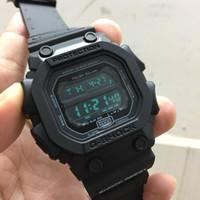 etiquetas electrónicas al por mayor-2019 Moda G Reloj deportivo para hombres Reloj LED de lujo electrónico Reloj de choque para hombre Relojes Cronógrafo Relojes militares digitales Caja original