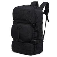 mochilas para hombres al por mayor-Mochila Molle de alta calidad 60L de gran capacidad Mochila multifuncional impermeable para hombres Mochila Mochila Bolsa de viaje