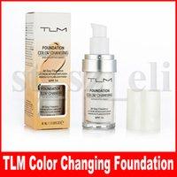 ingrosso tonificante la pelle del viso-TLM fondotinta cambia colore impeccabile tonalità della pelle calda colore trucco viso base trucco viso idratante viso correttore nudo