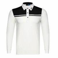 Wholesale spring men t shirt for sale – custom New men Dust_Proof Golf Shirt Latest Spring summer JL Golf sports shirt Full Sleeves Anti Pilling Short Golf T Shirt