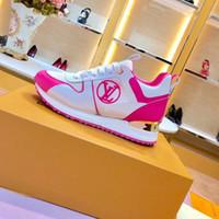 womans shoe großhandel-NEUE DIGITALE EXKLUSIVE RUN WAY SNEAKER 1A4WSV Luxus Damen Sneakers Designer Schuh Mixed Womans Plattform Laufen Laufschuhe