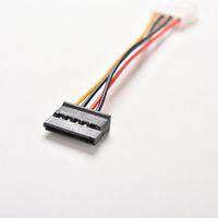 Wholesale ata hard drive for sale - Group buy 3pcs IDE to Serial ATA SATA Hard Drive Power Adapter Cable IDE to SATA Power Cable extenders