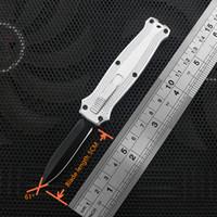 cuchillos de bolsillo de alta calidad al por mayor-Nuevo estilo de estilo 10 mini cuchillo automático de alta calidad mini llave de mango de aluminio navaja cuchillos hebilla auto del envío libre al por mayor