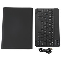 Wholesale huawei mediapad slim case for sale - Group buy Bluetooth Black Wireless Keyboard Durable Case Ultra Slim Folio Stand Cover Detachable for Huawei Mediapad M6 Inch