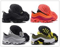 super popular ba1e9 89b11 Preiswerte neue Mens 97 Plus Tn Designerschuhe Chaussures Homme 97 Plus  Damen Sporttrainer Schuhe von Hombre Tns Airs Cushion Run Schuh Eur36-45