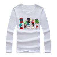 hba gömlek uzun kollu toptan satış-Ücretsiz kargo yeni satış uzun kollu t gömlek Hood Tarafından Hava RADYOAKTİF HBA t gömlek Hba Klasikleri tee gömlek 6 renk% 100% pamuk S-5XL