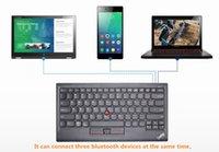 echte tastatur groihandel-New Genuine für Lenovo ThinkPad kleinen roten Punkt Multi-Funktions-Bluetooth UK Layout Tastatur-Unterstützung WIN Android Apple BT donggle4X30K12182