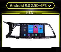 kia forte bluetooth al por mayor-Reproductor multimedia de DVD del coche Android 9.1 Estéreo GPS Bluetooth para coche apto para KIA K4 2014 Unidad principal autoradio
