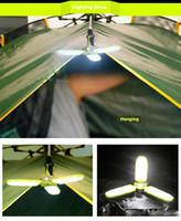 lanternas led 5w venda por atacado-Ao ar livre Compact Solar LED Lanterna Lanterna Lanterna 18led 100lm Bateria Recarregável Grande para Camping, Caminhadas, Trekking