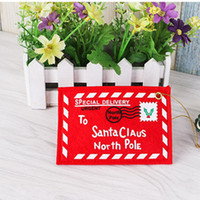 20pcs Christmas Tree Decorations Diy Crafts Folding Envelope Candy Bags Navidad Ornaments New Year 2020 Decorations for Home
