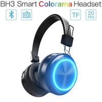 telefone liste großhandel-JAKCOM BH3 Smart Colorama Headset Neues Produkt in den Kopfhörern Kopfhörer als MP3-Player-Handy-Listenuhr