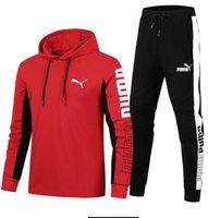 mens rahat kıyafetler ücretsiz gönderim toptan satış-ücretsiz kargo Moda erkek Eşofman İlkbahar Sonbahar Casual Unisex Spor Parça Yüksek Kalite Kapüşonlular Erkek Giyim L-4XL Takımları