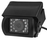 противотуманная резервная камера оптовых-18 LED Анти-Туман ИК Ночного Видения Водонепроницаемый Автомобиля Заднего Вида Обратного Резервного Копирования Камеры Для водителя Мониторинг дороги автомобильный видеорегистратор