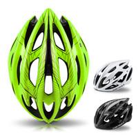 ciclismo de capacete venda por atacado-Capacete de bicicleta para bicicleta ciclismo segurança capacete superlight 21 aberturas respirável mtb capacetes de bicicleta de estrada de montanha