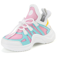 Wholesale black tenis shoes for sale - Group buy Kids Running Sneakers Spring Summer Children Sport Shoes Tenis Infantil Boy Basket Footwear Lightweight Breathable Girl Flats