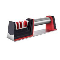 cuchillos de cocina profesional al por mayor-Afilador de cuchillos profesional Afilador de cuchillos de cocina Molinillo para el hogar Piedra de afilar Herramientas de cocina Piedra de afilar
