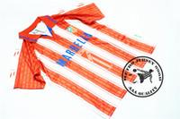 futebol futebol jersey transporte gratuito venda por atacado-Frete grátis 1995 1996 atm simeone kiko caminero futebol jersey velho retro camisas de futebol camisetas