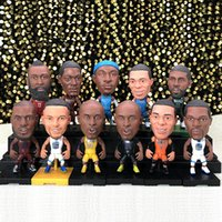 Wholesale hot 14 year old for sale - Group buy Basketball star Michael cm centimeters pneumatic head doll fans Articlesl Doll figure toys Top quality hot