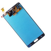 замена lcd для заметок оптовых-Для Samsung Galaxy Note 4 Note4 N910C N910 N910A N910F ЖК-Экран Сенсорный Замена Дигитайзер Ассамблеи