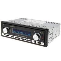 ingrosso ingressi lettore dvd-JSD - 20158 12V Bluetooth V2.0 dvd per auto Audio stereo In-dash Single Din Ricevitore FM Aux Input Receiver USB MP3 MMC WMA Radio Player