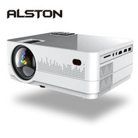 Wholesale mini projector for video games for sale - Group buy ALSTON Q2 Projector LED Mini Micro Portable Video HD Projector with HDMI USB For Game Movie Cinema Home Theater