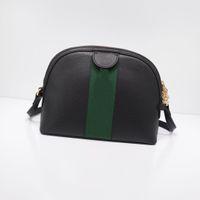 Wholesale free canvas bags resale online - hot Fashion brand lady handbag purses high quality crossbody bags letter stitching striped shoulder bag shell bag free shopping
