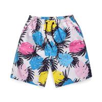 pantalon de travail pour homme achat en gros de-CHAMSGEND Shorts Summer Beach Pantalon De Travail Pour Hommes 3D Graffiti Feuilles Print Board Shorts Pantalon Court Pantalon Pour Homme 19JAN25