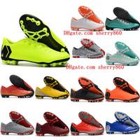 sapatos de futebol superfly ag venda por atacado-2019 mens sapatos Mercurial Superfly 12 Academia CR7 AG-R chuteiras de futebol ao ar livre chaussures de futebol botas tamanho 39-45 barato