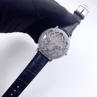 женские часы оптовых-Женские часы высокого качества, модные европейские и американские часы с леопардовым дизайном.