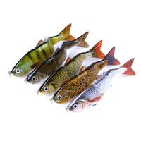 Wholesale lures 12cm online - Fishing Wobbler Lifelike Fishing Lure Segment Swimbait Crankbait Hard Bait cm g Artificial Lures Fishing Tackle