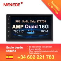 android dvd gps wifi nissan großhandel-MEKEDE Universal 7 '' Android 8.1 Auto GPS DVD Audio RDS Kassette für Nissan Toyota Peugeot KIA Multimedia mit wifi 4G SWC